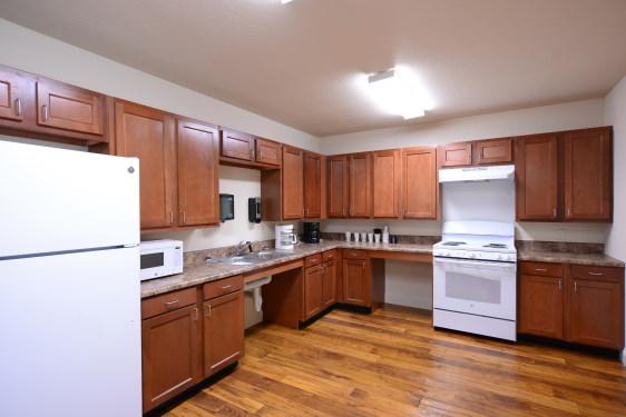 White Oak, Kitchen, affordable, community building