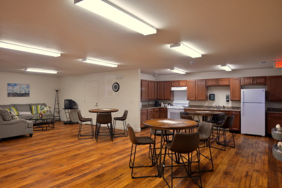 affordable, community room